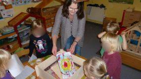 as pädagogische Konzept des DRK-Kindergartens Am Burgplatz in Emden