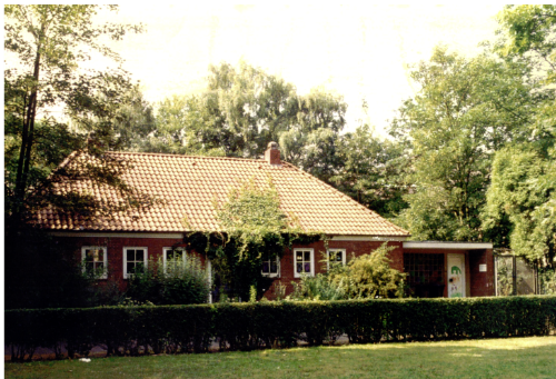 Neubau im Jahr 1962