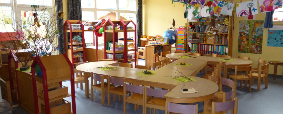 Räumlichkeiten des DRK-Kindergartens Am Burgplatz in Emden