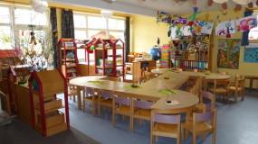 Räumlichkeiten des DRK-Kindergarten am Burgplatz in Emden