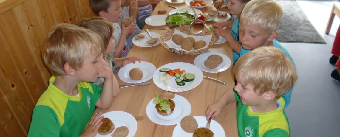 Vitale Vollwertkost - der zuckerfreie Kindergarten Am Burgplatz in Emden